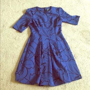 Amazingly comfortable fit and flair dress